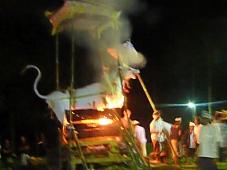 Cremation of a Mangku, Sanggingan